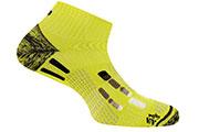 Chaussettes Pody Air Run jaunes