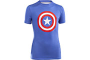 Tshirt super héros junior Captain America