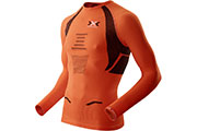 Maillot manches longues The Trick Running orange