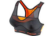 Brassière sport Virtuosity noir orange - Maintien 5