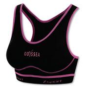 Brassière sport Odyssea noir rose - Maintien 4