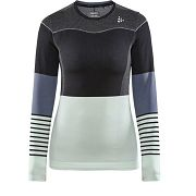 Maillot manches longues Fuseknit Confort Blocked Wo