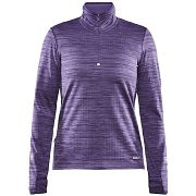 Maillot manches longues Grid Demi-Zip Wo