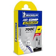 Chambre à air A1 AirComp Ultralight 700x 18/25X622 PR52 Compétition Line