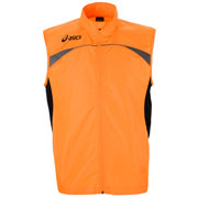 Gilet de sécurité flash orange