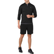 Maillot manches longues 1/2 zip jersey