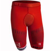 Boxer long Trail Underwear Short rouge Compressport