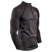 Gilet Hybrid Pullover Black