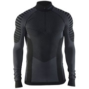 Maillot manches longues Active Intensity col zip M