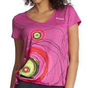 T-shirt Rosa violet