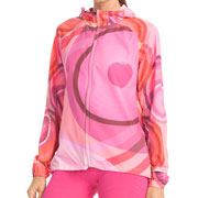 Veste coupe vent Pili rose running