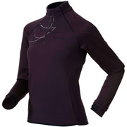 Maillot manches longues Glance col 1/2 zip Wo