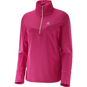 Maillot ML Trail runner warm MID W rose
