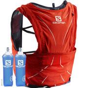 Sac d'hydratation Adv Skin 12 set rouge / graphite