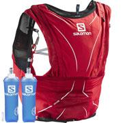 Sac d'hydratation S-Lab Advanced Skin 12 Set rouge Salomon