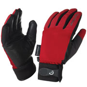 Gants imperméables All Season Gloves rouges Sealskinz