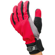 Gants imperméables AllWeather Cycle Gloves rouge