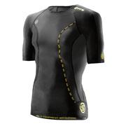 T-shirt compression DNAmic Manches courtes Noir