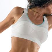 Brassière sport Topstrap X-back blanc