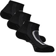 Lot 3 paires chaussettes Run Lighty noir