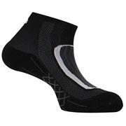 Socquettes Run Lighty noires