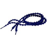 Lacets autobloquants 75 cm bleu