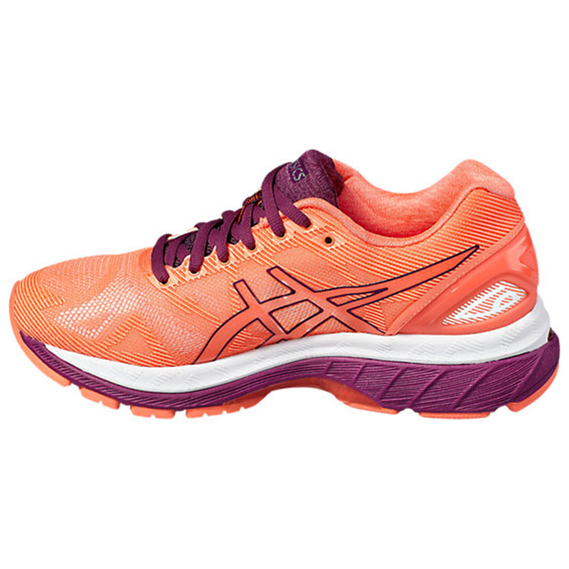 asics gel nimbus 19 w chaussures femme running. Black Bedroom Furniture Sets. Home Design Ideas