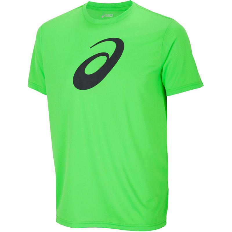 Shirt Race Running Vert T Asics Ybm7fIgv6y