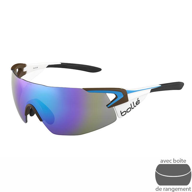 Bollé Lunettes de soleil 6e Sense Shiny Noir Accessoires Lunettes / Masque de ski HU7Y2