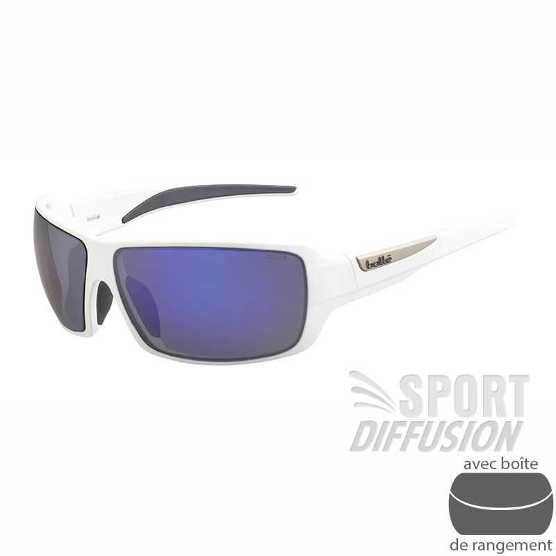 Bollé Lunettes de soleil Cary Blanc Accessoires Lunettes / Masque de ski WehMRY7Ap
