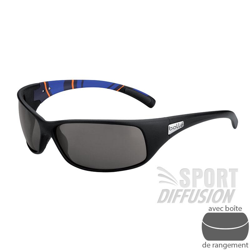 Bollé Lunettes de soleil Cadence Noir et argent Accessoires Lunettes / Masque de ski 7yUHGgx