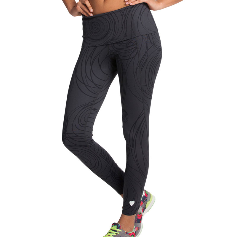 Desigual Collant gris Desigual running fitness W Textile Femme Collant 0f7eaa09283