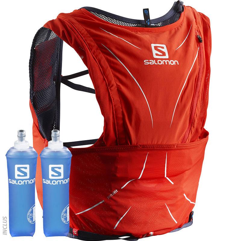 nouveaux styles 981d2 aeb18 Sac d'hydratation Advanced Skin 12 set rouge vif/graphite