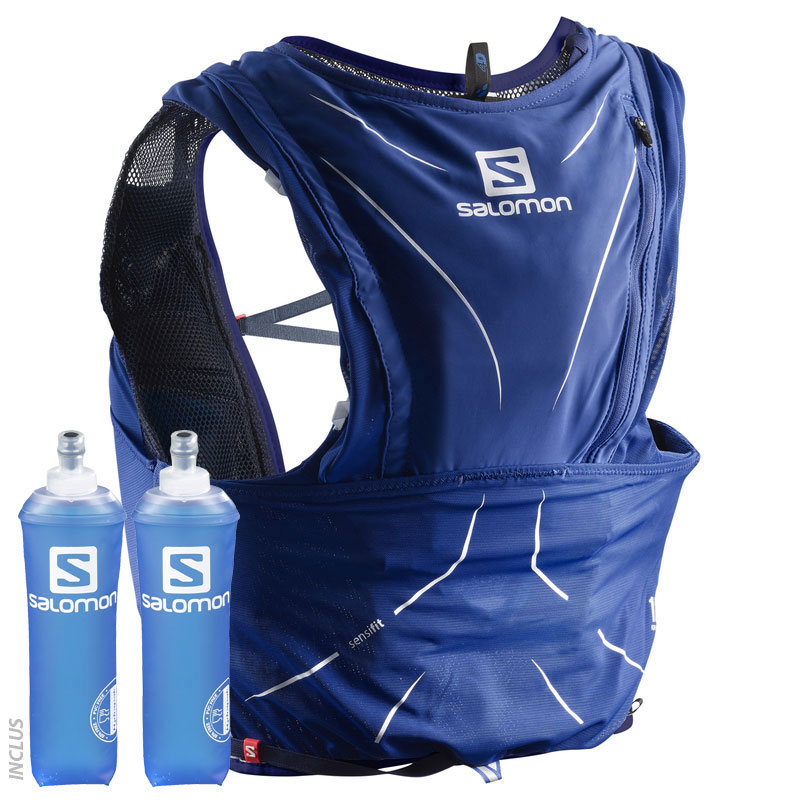 Set Sac Salomon Advanced Skin 12 D'hydratation Bleu kOTwPXulZi